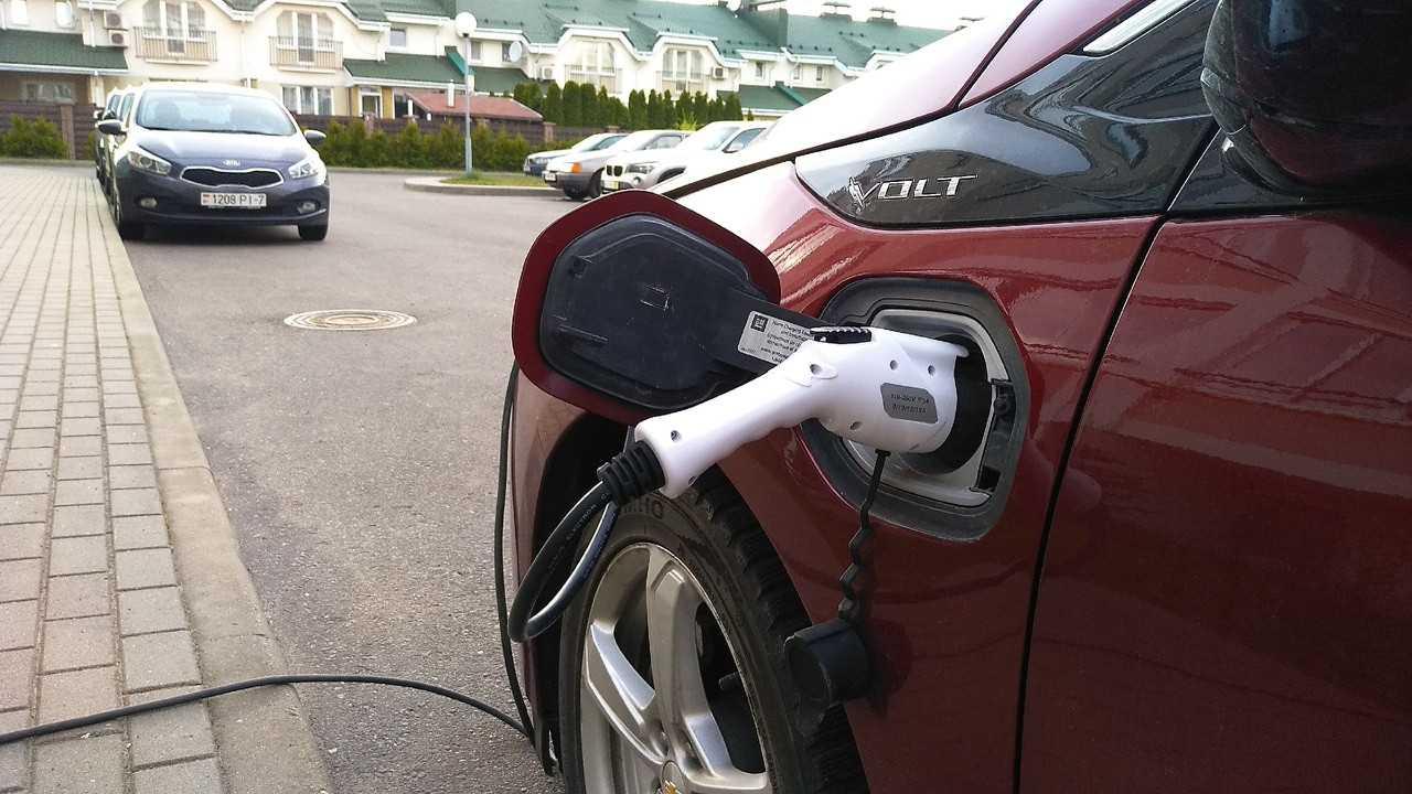 Зарядка Chevrolet Volt